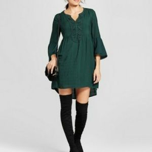 Knox Rose Emerald Green Dress